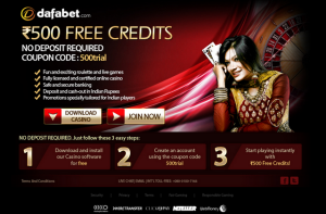 Dafabet 500 Rupees Free Trial screenshot